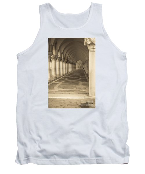 Solitude Under Palace Arches Tank Top