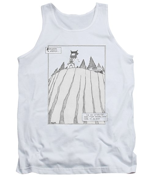 Somewhere In America Tank Top