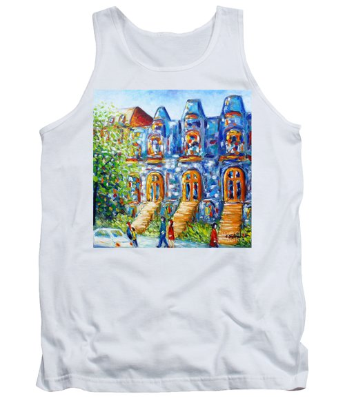 Somewhere In Montreal - Cityscape Tank Top