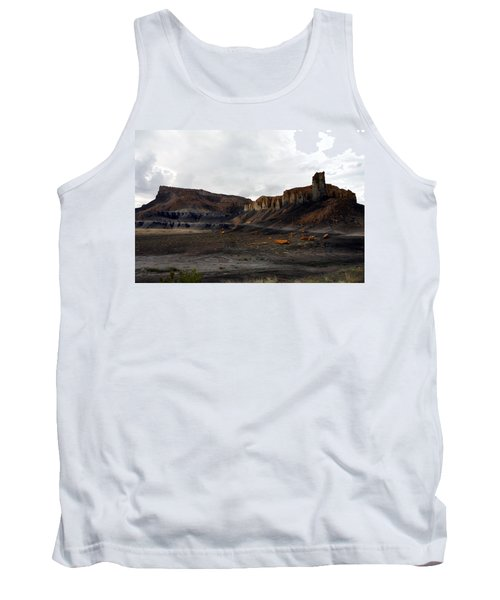 Source Of The Mud Flood Tank Top by Lon Casler Bixby