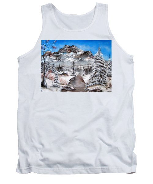 Tank Top featuring the painting South Dakota Morning by Patrice Torrillo
