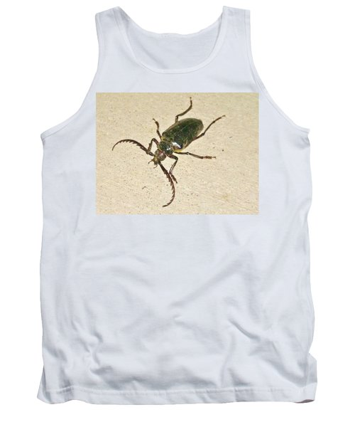 Tank Top featuring the photograph Spike by Angela J Wright