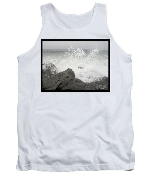 Tank Top featuring the photograph Splash And Gray by Glenn McCarthy Art and Photography