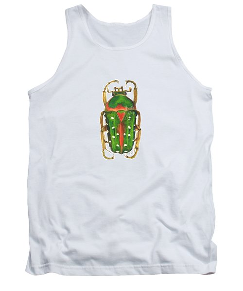Spotted Flour Beetle Tank Top by Cindy Hitchcock