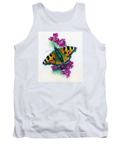 Spreading Wings Of Colour Tank Top