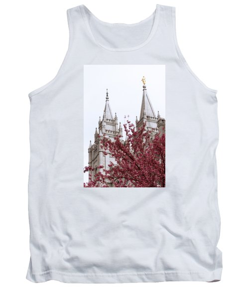 Spring At The Temple Tank Top