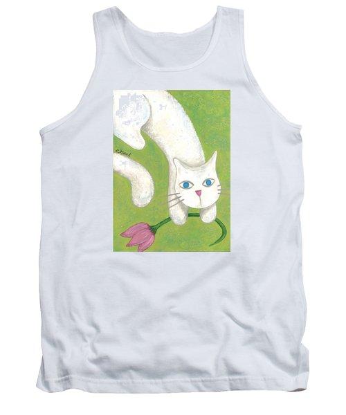 Spring Cat Tank Top
