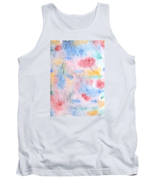 Tank Top featuring the photograph Spring Garden by Susan  Dimitrakopoulos