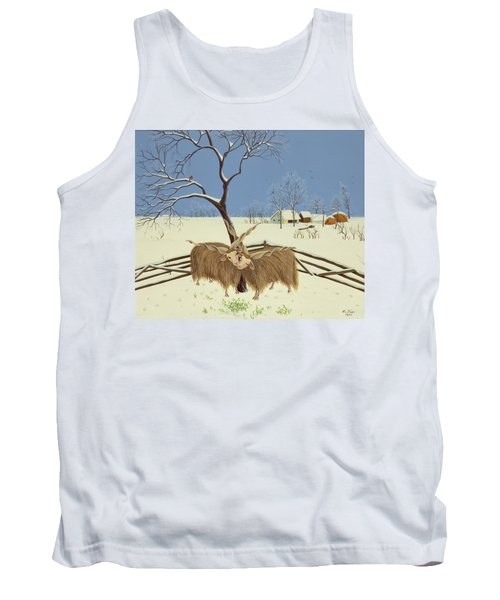 Spring In Winter Tank Top