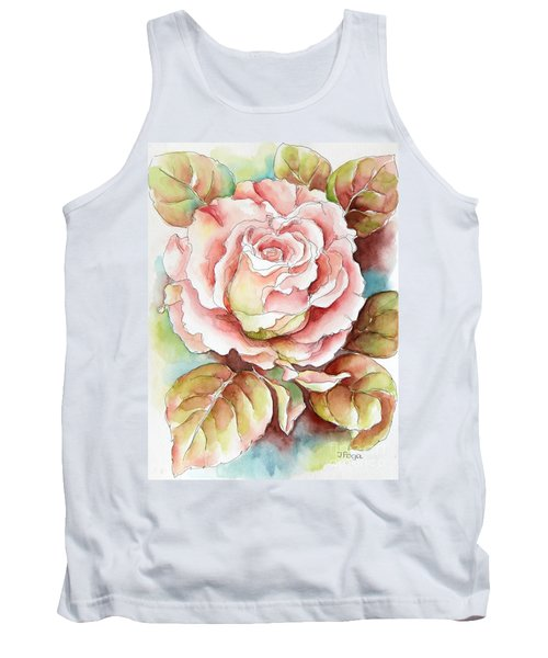 Spring Rose Tank Top by Inese Poga