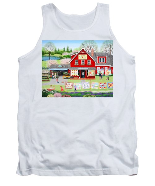 Springtime Wishes Tank Top