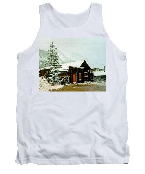 St Elmo Snow Tank Top