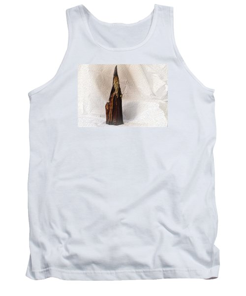 Tank Top featuring the photograph St Nicholas With Fawn by Nadalyn Larsen