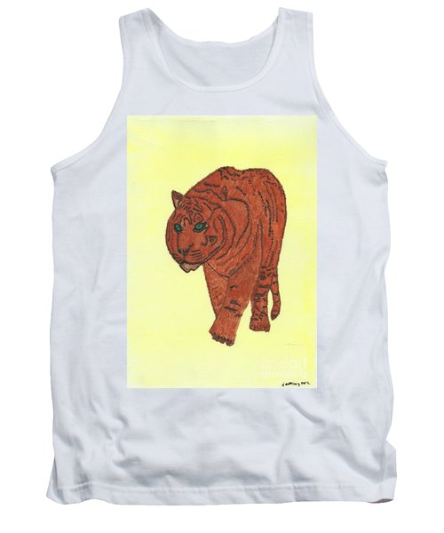 Stalking Tiger Tank Top