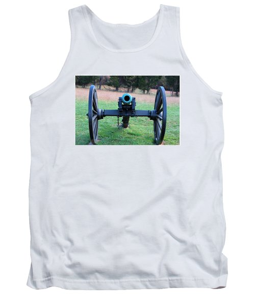 Staring Down The Barrel Tank Top