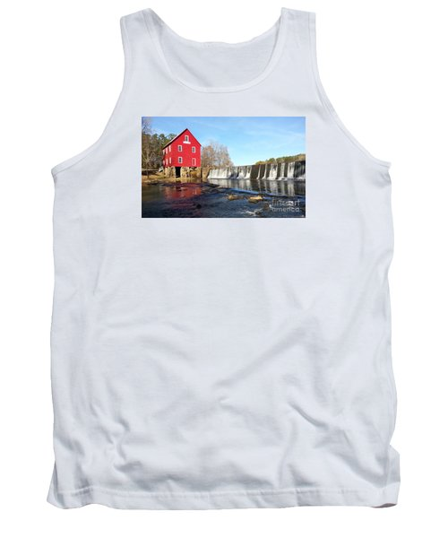 Tank Top featuring the photograph Starr's Mill In Senioa Georgia 3 by Donna Brown