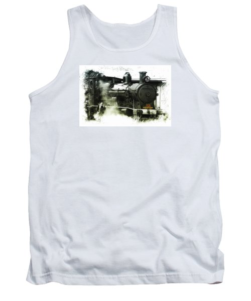 Tank Top featuring the photograph Steam 01 by Kevin Chippindall