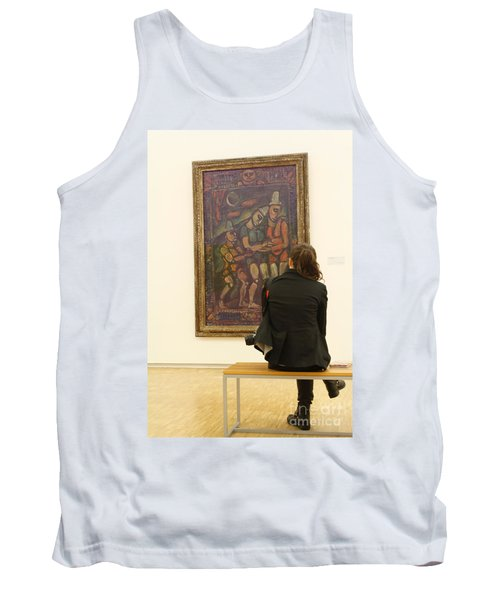Stendhal Syndrome Tank Top