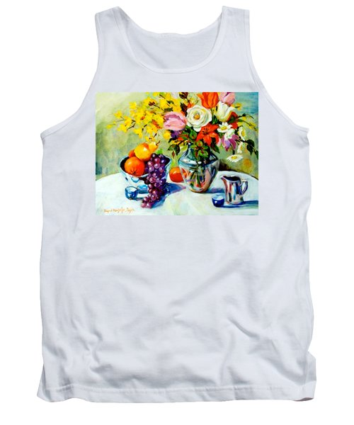 Still Life Creamer Tank Top