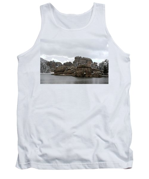 Sylvan Lake In October Tank Top