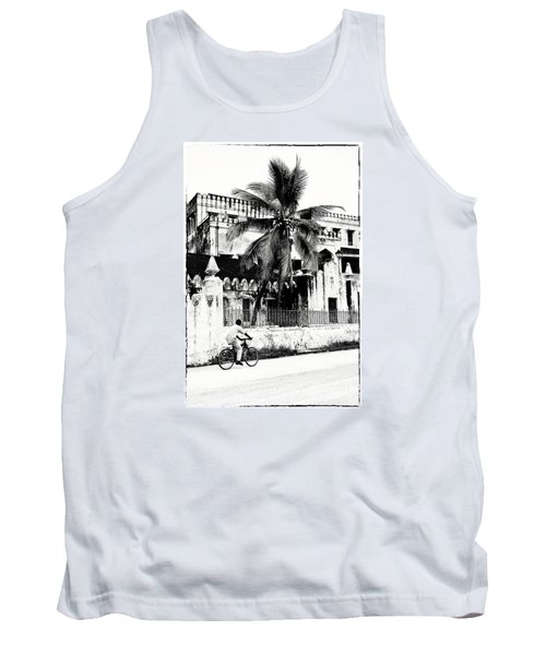 Tank Top featuring the photograph Tanzania Stone Town Unguja Historic Architecture - Africa Snap Shots Photo Art by Amyn Nasser