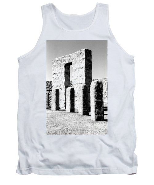 Tank Top featuring the photograph Stonehenge Replica by Chalet Roome-Rigdon