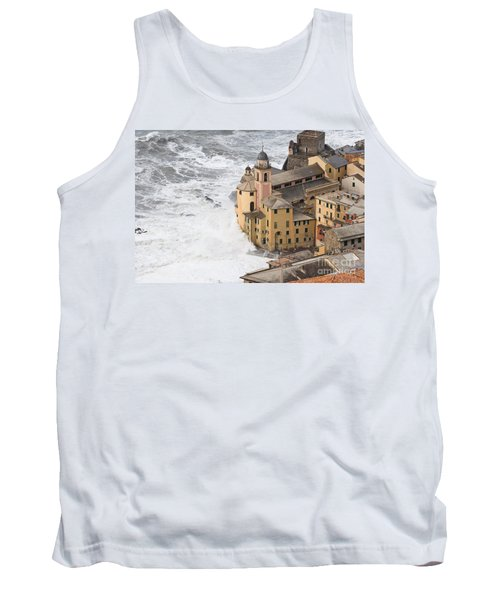 Tank Top featuring the photograph Storm In Camogli by Antonio Scarpi