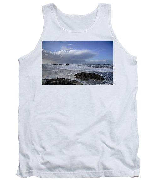 Storm Rolling In Wickaninnish Beach Tank Top