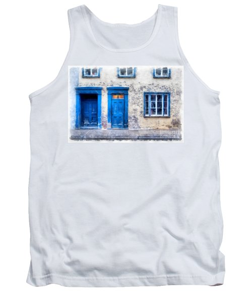 Streets Of Old Quebec 2 Tank Top