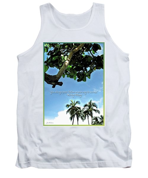 Success And Failure Botanical Inspiration Tank Top