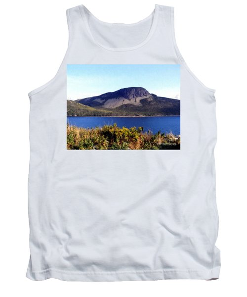 Sugarloaf Hill In Summer Tank Top by Barbara Griffin