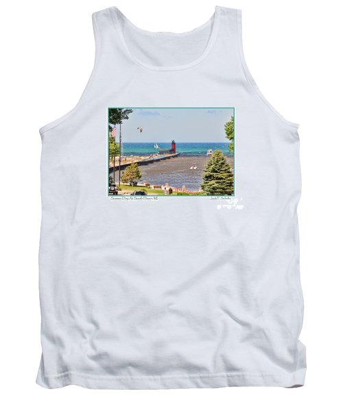 Summer Day At South Haven Mi Tank Top