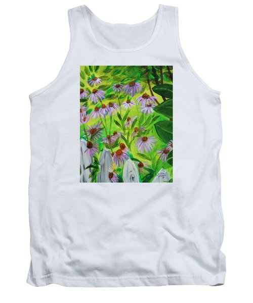Summer Flowers In Peculiar Mo. Tank Top