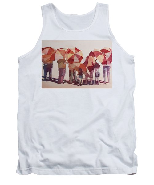 Sun Drenched Parasols  Tank Top
