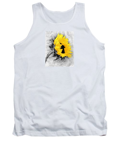 Sun Power Tank Top by I'ina Van Lawick