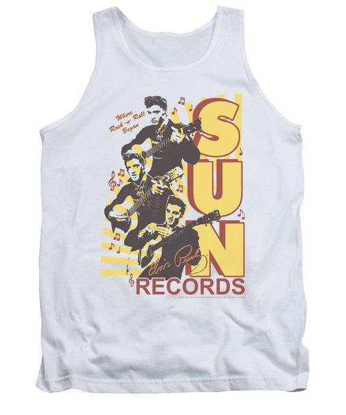 Sun - Tri Elvis Tank Top