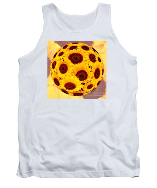 Sunflower Sunshine Tank Top