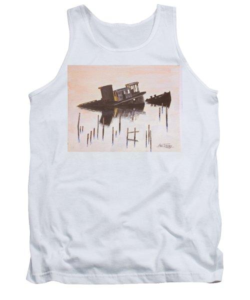 Sunken Boat Tank Top by Stan Tenney