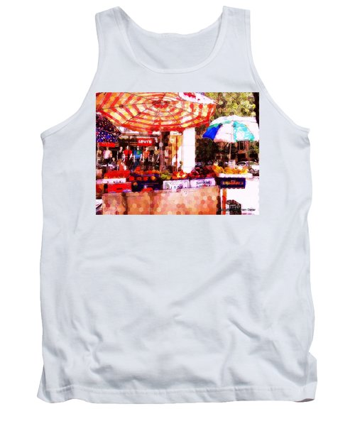 Tank Top featuring the photograph Sunkist by Miriam Danar