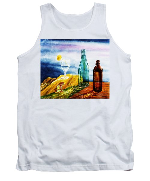 Sunlit Bottles Tank Top