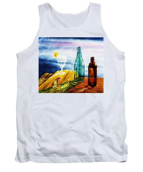 Sunlit Bottles Tank Top