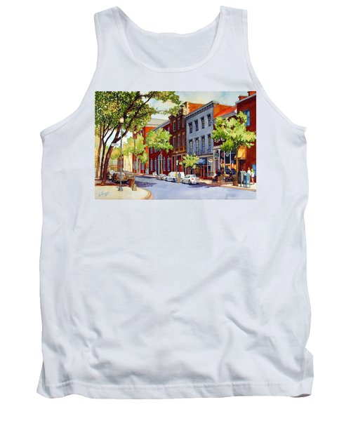 Sunny Day Cafe Tank Top