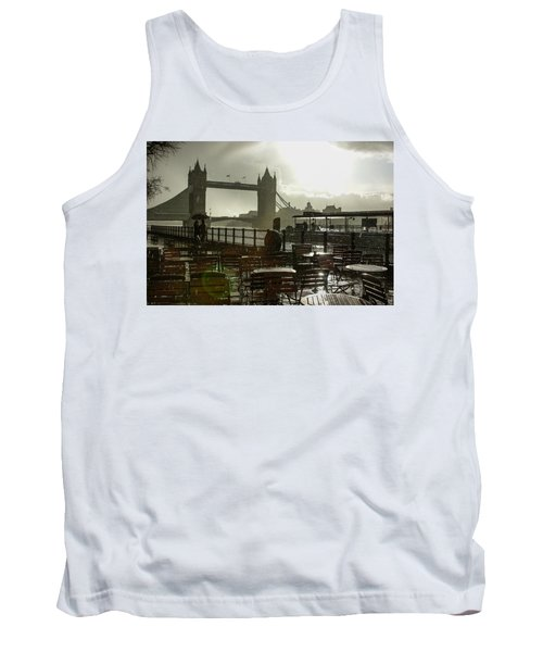 Sunny Rainstorm In London England Tank Top