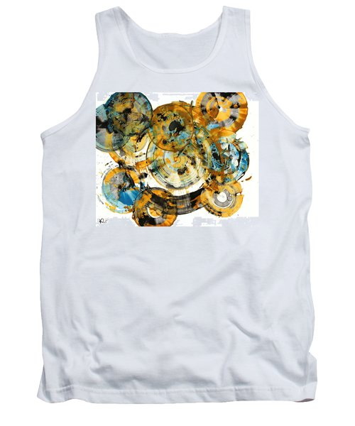 Tank Top featuring the painting Sunrise - 991.042212 by Kris Haas