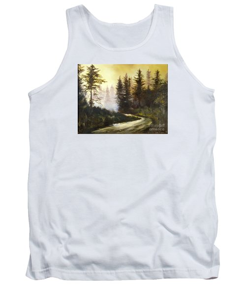 Sunrise In The Forest Tank Top by Lee Piper