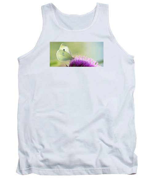 Sunrise In The Thistle Fields Tank Top