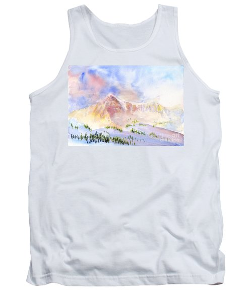 Sunrise On Mount Ogden Tank Top