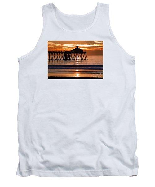 Sunset At Ib Pier Tank Top