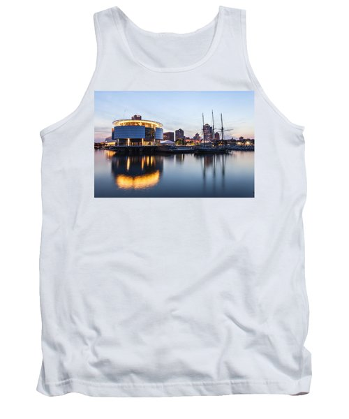 Sunset At The Dock Tank Top