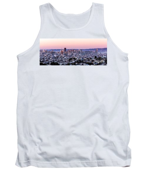 Sunset Cityscape Tank Top